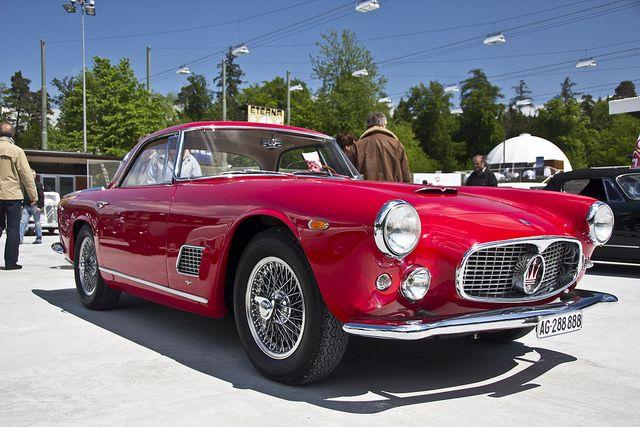Red Maserati 3500GT