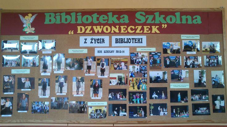 Praca biblioteki szkolnej w roku szkolnym 2013/14