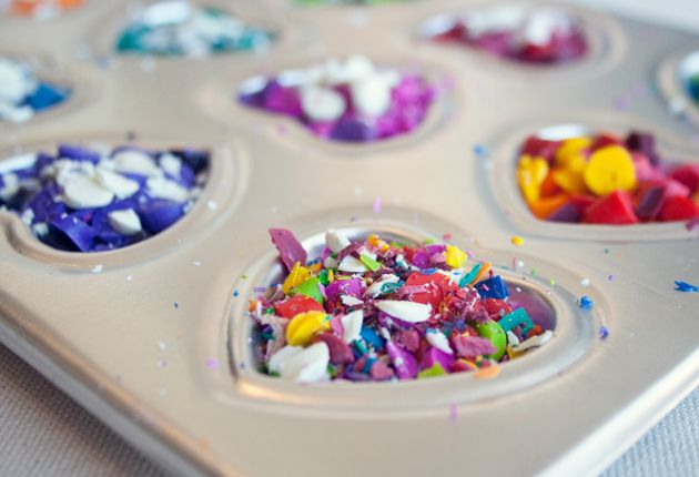 Crayon Crafts!Crayons Crafts, Crafts Ideas, Valentine Day Crafts, Crayon Crafts, Kids Stuff, Diy Crafts, Broken Crayons, Kids Crafts, Diy Crayons