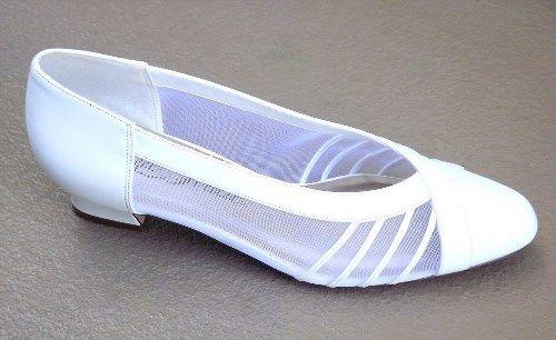 37.62$  Watch here - http://vidye.justgood.pw/vig/item.php?t=e9hsftg5352 - Womens Formal White Dress Shoes Faux Leather Mesh Slip on Size 8 M N Wedding 37.62$