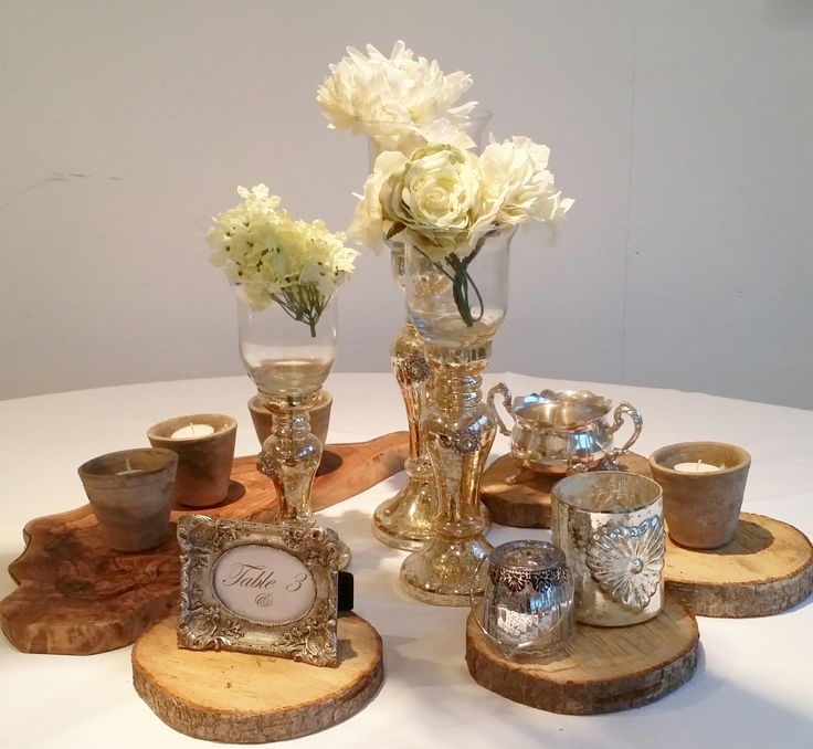 simple inexpensive table centre