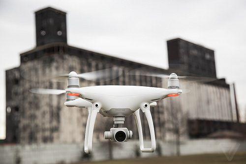 Phantom 4: el nuevo 'Súper Drone' que comercializará Apple