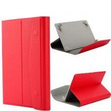 Capa Tablet 7 Polegadas Botón - Stand Vermelho  R$35,44