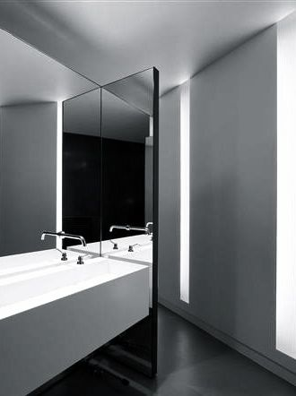 lissoni associati and boffi triennale museum milan 2010 minimalist bathroommodern bathroomwashroom designbathroom - Modern Design Bathrooms 2010