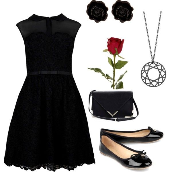 """Funeral..."" by kaarencampuzano on Polyvore"