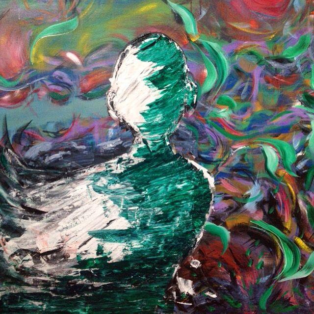 Painting in progress by Brina Schenk