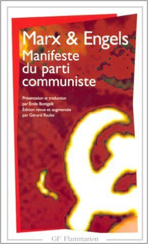MANIFESTE DU PARTI COMMUNISTE: Amazon.com: KARL MARX, FRIEDRICH ENGELS: Books
