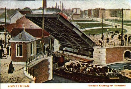 Wiegbrug amsterdam