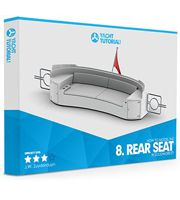 SOLIDWORKS® Yacht Course - Module #8 - Rear Seat Tutorial
