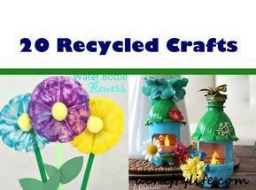 Verwenden Sie recycelte Materialien, um dieses lustige recycelte Kinderhandwerk zu kreieren. Unterrichten Sie Kinder über …   – spring daycare decorations