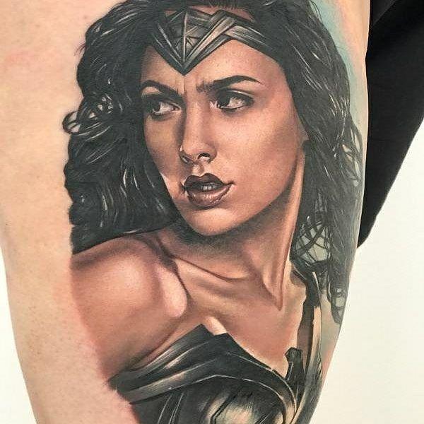 Tattoo artist Sarah Miller color realistic tattoo   USA