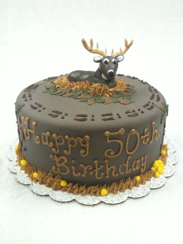 Pinterestteki 25den fazla en iyi Deer hunting cakes fikri