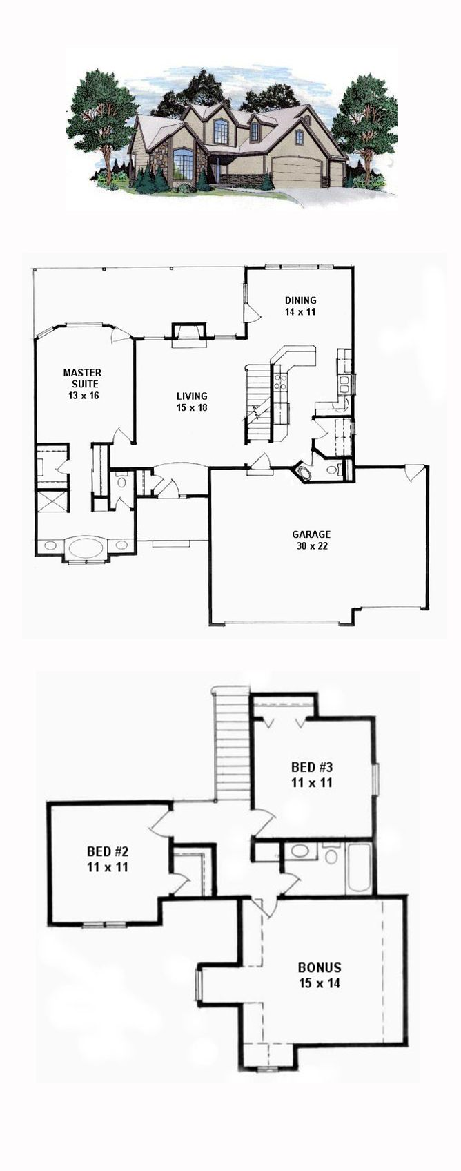 16 Best European French House Plans Images On Pinterest