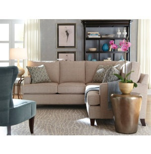 Park Avenue Sectional From HGTV Home Features Track Arm Styling With Crisp Tailoring The Custom