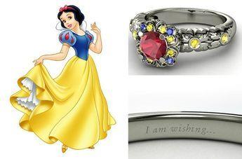Alianças inspiradas nas Princesas Disney | http://flaviakitty.com/blog/2015/03/aliancas-inspiradas-nas-princesas-disney/