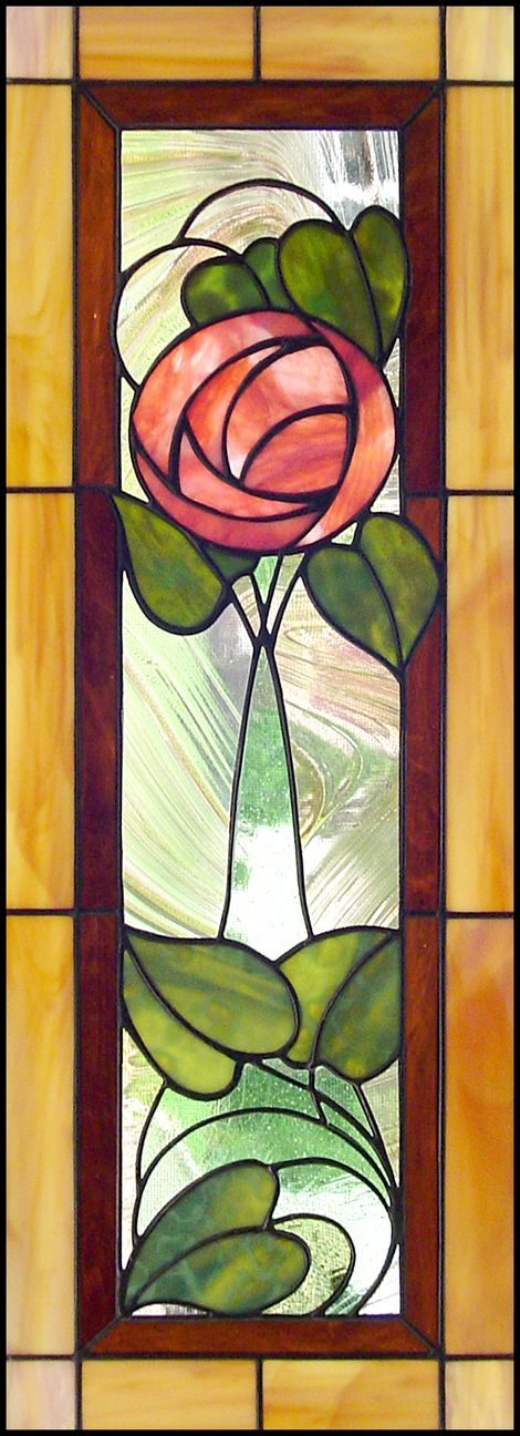 The MacIntosh Rose.  Charles Rennie MacIntosh  style was restrained use of colour, long flowing lines, use of symbols, such as swirling roses, based on nature. Charles Rennie MacIntosh Glasgow Architech. Charles Rennie Mackintosh's structures are now regarded as part of the international modern movement of the time.