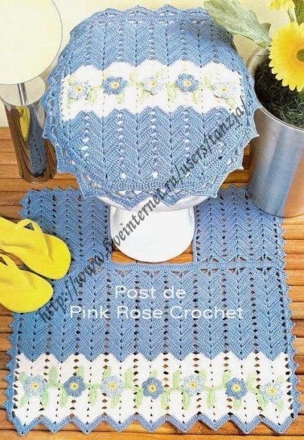 303 best images about Baño crochet y más ideas... on ...