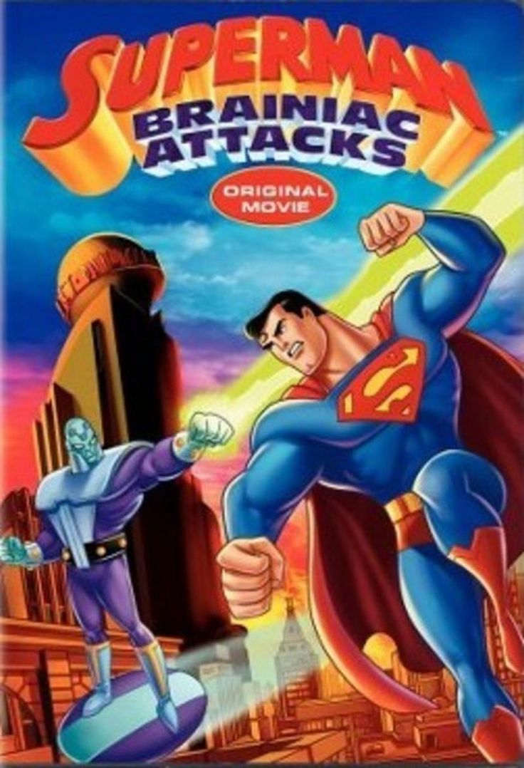 Superman Brainiac Attacks (animated) Superman, Original