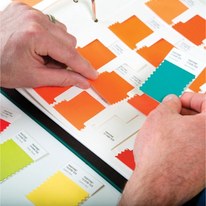 #Shade #Cards for #Fabric - #Pantone #TCX #work #swatch #office #cut #art