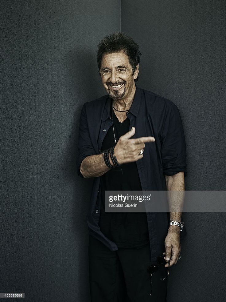 Actor Al Pacino is photographed for Self Assignment on August 28, 2014 in Venice, Italy.