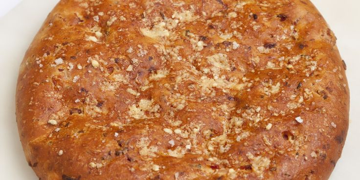 Bacon, onion and cheddar flatbread