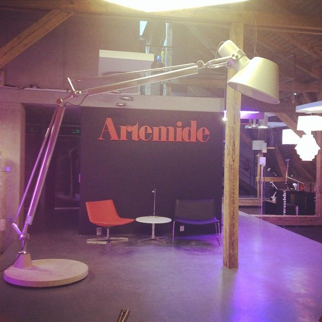 #artmide #artemideshowroom #lights #tolomeo #tolomeoxxl #lightborn #prague #holesovice