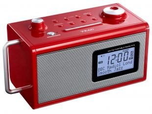 Rádio Relógio Despertador/Alarme AM/FM - Entrada Auxiliar Display Digital - TEAC R5