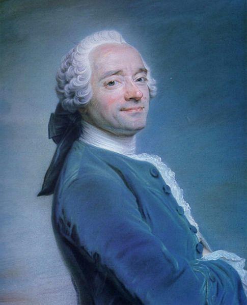 Autoritratto 1751 Quentin de la Tour Pastello