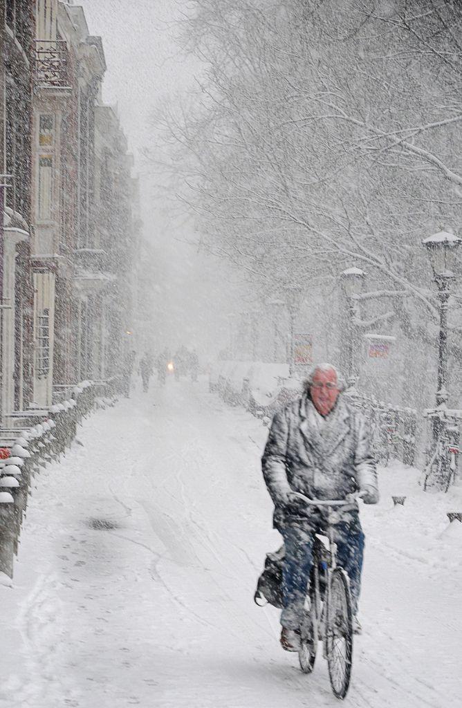 All sizes | fietsen in de sneeuw (snow cycling) | Flickr - Photo Sharing!