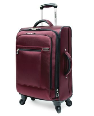 "Ricardo Suitcase, 20"" Sausalito Expandable Rolling Carry On Spinner Upright - Upright Luggage - luggage - Macy's"