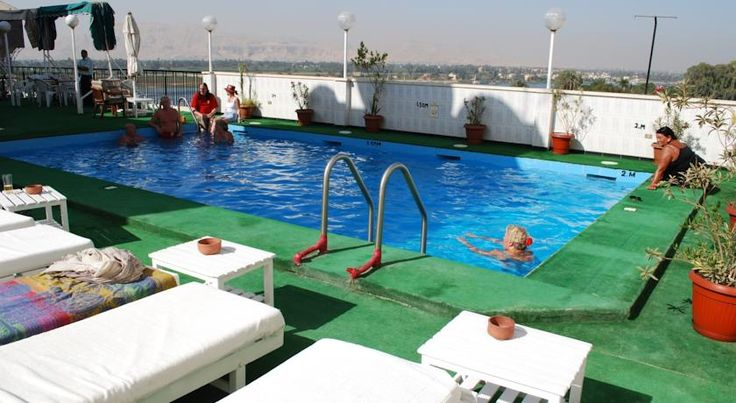 St.Joseph Hotel Luxor Overlooking the left bank of the Nile, St.Joseph Hotel offers modern rooms with air conditioning and a TV. Facilities include a rooftop swimming pool and sun terrace. Sonsita is a short walk away.  All rooms of St.