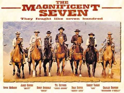 "The west couldn't have gotten any cooler and then ""The Magnificent Seven"" rolled into town with this theme behind them. Thanks Elmer, Bernstein of the West!"