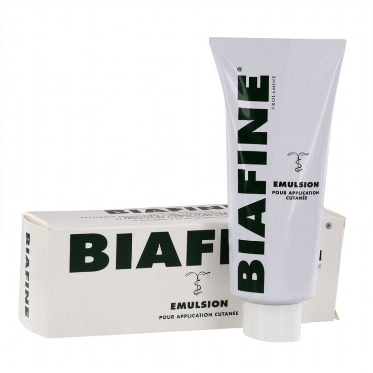 Description $25 for 186g free shipping  BIAFINE is a water-based emulsion formulated for the dressing and management of superficial wounds, minor abrasions, dermal ulcers, donor sites, 1st and 2nd degree burns, including sunburns, and radiation dermatitis. When applied p...
