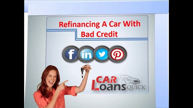 car refinancing with bad credit
