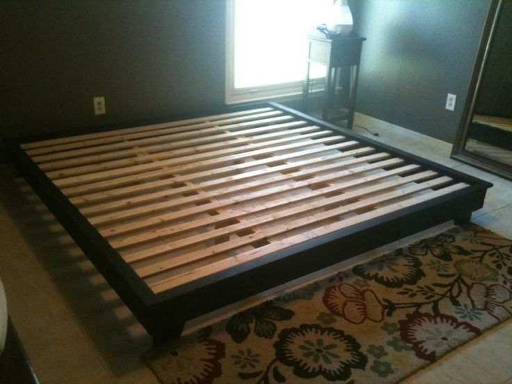 DIY Platform Bed Plans | King Sized Hailey Platform Bed | Do It Yourself Home Projects from Ana ...