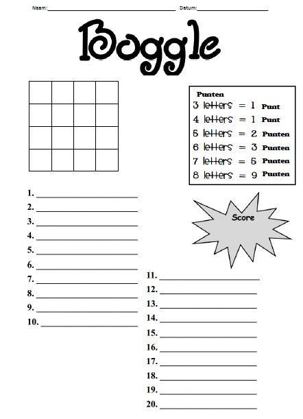 Leuk om te gebruiken bij het letterspel Juf Stephanie: Spelletjes