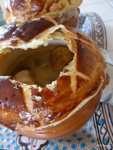 Paupiettes de sole et langoustines en croûte. . La recette par Une cuillerée pour papa.
