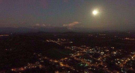 Luna llena. Nochebuena. david chiriqui Panama.