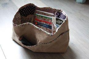 Les 25 meilleures id es de la cat gorie organiseur de sac - Tuto organisateur de sac ...