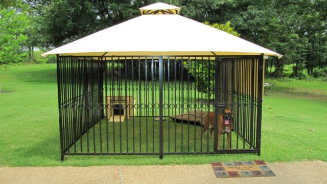 Custom Aluminium Dog Kennel With Cover Other Markham York