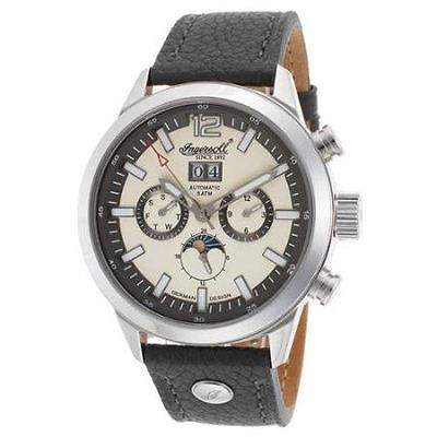 Other Jewelry and Watches 98863: Ingersoll Watch Mens Watch Mormon Model In1504ch Genuine Leather Grey Strap New BUY IT NOW ONLY: $169.99