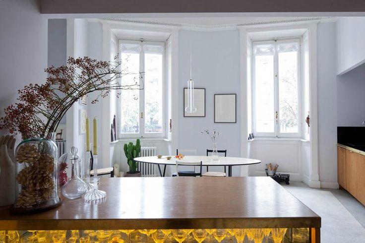 Casa stile liberty a Milano - Living