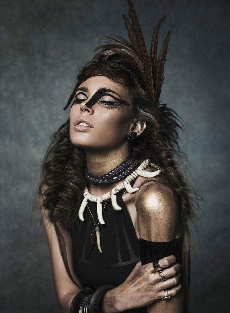 Nuria Nieva for Elle Romania by Jesus Alonso