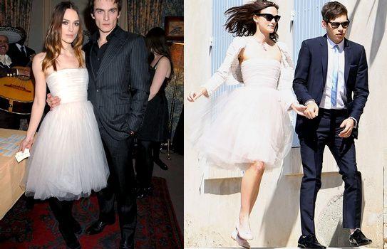 Robe de mariée de Keira Knightley  Yes... Maybe !  Pinterest
