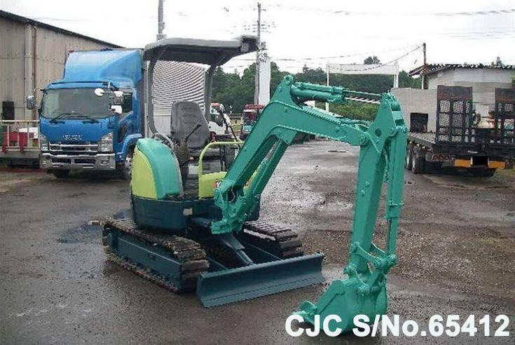Used Yanmar VIO20-3 Mini Excavator for sale | 2007 model | CJC- 65412 | Japanese Used Machinery online