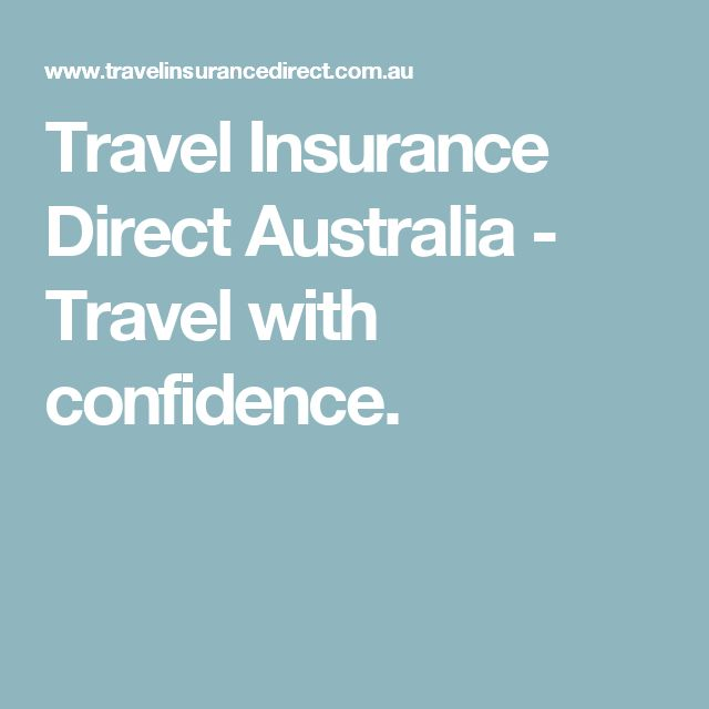Travel Insurance Direct Australia - Travel with confidence.