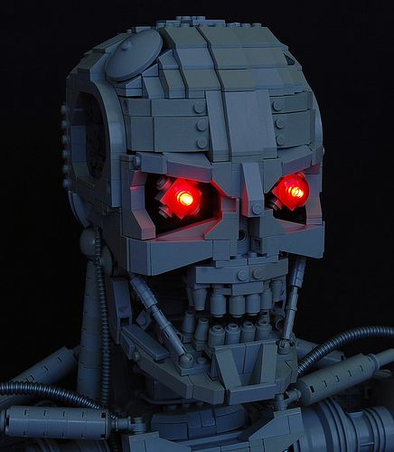 LEGO Terminator: not my favorite but pretty good