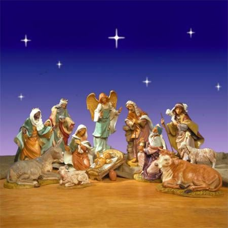 Thoughts and Questions from Aramis Thorn: Why I love Christmas – Nativity Sets