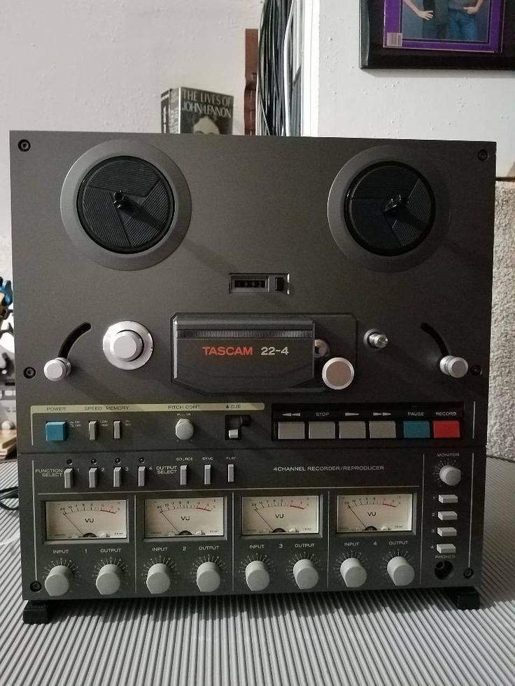 TASCAM 224 Reel to Reel 4 Channel Tape Recorder Tape