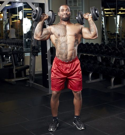 30 Minutes to 3-D Shoulders - Men's Fitness